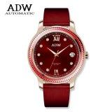 Ad6061 Dame Watch, het Horloge van de Kleur van het Horloge van de Diamant