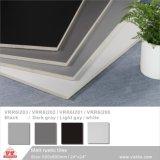 """Gris clair Matériau de construction de la Chine Foshan Couleur Pure porcelaine rustique Floor Wall Tile (VRR6I201, 600x600mm, 300x600mm/24''x24""""; 12''x24"""")"""