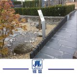 Pedra de calçada de basalto negro natural para jardim / Jardinagem/Banda decorativa/caminho