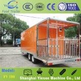 De Caravan van het Snelle Voedsel van de Douane van Yieson voor Commercieel
