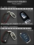 Кожаные цепочки ключей автомобиля для мелких предметов сумка для дистанционного управления Audi