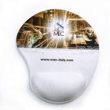 Tapis de souris polychrome fait sur commande de gel d'impression de qualité avec le coussin de poignet