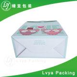 Kundenspezifischer Firmenzeichen-Entwurf gedruckte Geschenk-verpackende Papiereinkaufen-Träger-Beutel
