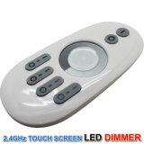 Tira LED 5050 de 3528 2.4G de luz LED de zona 4 Touch Dimmer