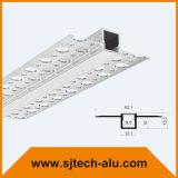 LEIDEN van het Aluminium van de Bouw van het pleister Profiel voor Drywall