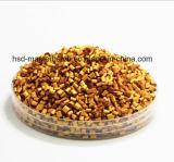 リサイクルされたプラスチックはHDPE LDPE LLDPE黄色いカラーMasterbatchのユニフォームの粒子を小球形にする