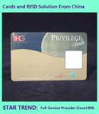 Cartão de handicap com tarjas magnéticas de plástico feitas