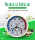 Termo-Igrometro meccanico del termometro utilizzato ospedale di vetro rotondo della visualizzazione di precisione