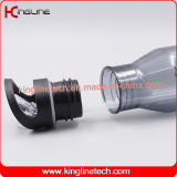 bottiglia di plastica della bevanda dell'acqua 700ml con paglia