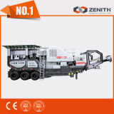 Neueste hohe technische mobile Granit-Steinzerkleinerungsmaschine-Maschine