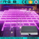 Iluminación de escenarios de 50*50cm de pista de baile en 3D portátil