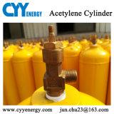 cilindro de gas de alta presión del argón del CO2 del O2 del nitrógeno del acetileno 40L