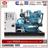 Weichai 엔진과 마라톤 발전기 (15-375kVA/12-300kw)를 가진 20kw/25kVA 바다 디젤 엔진 발전기
