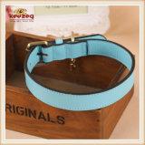 La alta calidad hechos a mano Perro Collar de cuero correas/Collar de perro (KC0037)