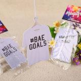 T-Shirt colgantes en forma de papel tela Ambientador con diferentes (Fragancia YH-AF299)