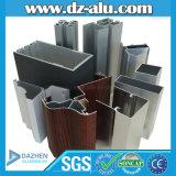 Aluminiumprofil 6063 T5 ein Grad mit hölzerner Korn-Farbe