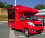 Foton feilbieten kleiner mobiler Eiscreme-LKW 3 Tonnen Fahrzeug
