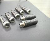Conetor impermeável Não-Protegido de Wireable do campo de M12 4pin conetor fêmea