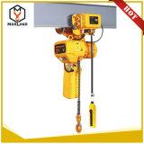 bloque de cadena pesado de elevación del uso de materiales de 3t los 5m