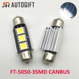 Lampadine automatiche della targa di immatricolazione di Canbus del festone di qualità superiore 3SMD 5050 LED Canbus
