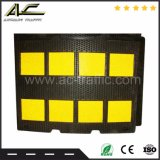 8 PCS beste QualitätsYellow&Black Gummigeschwindigkeits-Buckel