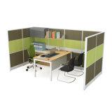 現代事務机2人のオフィスワークステーション