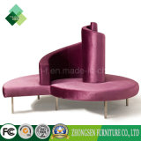 جديد تصميم ردهة أثاث لازم مستديرة ردهة أريكة كرسي تثبيت على عمليّة بيع