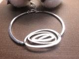 O fabricante de jóias brilhantes personalizado fino 925 bracelete de prata esterlina Factory