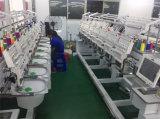 De geautomatiseerde multi-HoofdMachine van het Borduurwerk voor GLB & Vlak Hoofd 1-15 van de T-shirt