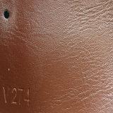 Cuoio sintetico alla moda dell'unità di elaborazione Microfiber del PVC per il sofà (HS-QF16)