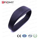 Wristband dual del silicón de la frecuencia RFID