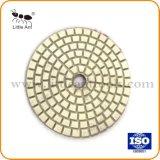 80mm PREMIUM blanc mouillé le tampon de polissage de diamants en Marbre Granit