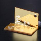 Het gouden AcrylBlad van de Comités van het Plexiglas van de Spiegel van de Rechthoek