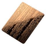 Prezzo di tela dello strato impresso 201 dell'acciaio inossidabile del reticolo di rivestimento