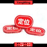 Acrylic casino Factory new Custom Design oval Produce Shape LOCATE fire (YM-LE02)