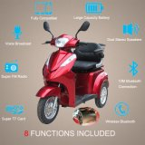 vespa eléctrica invalidada rueda de la movilidad 500With700W 3 para las personas mayores
