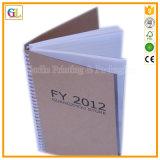 Impressão profissional do caderno do Fio-o