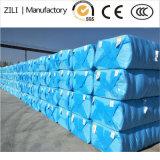 青い綿の梱包のパッケージ袋
