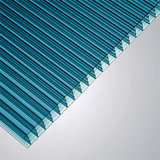 Het Holle die Blad van Multiwall van het polycarbonaat in China voor Bouwmateriaal wordt gemaakt