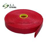Manichetta antincendio bianca del PVC di alta qualità/tubo flessibile di Layflat