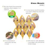 장식적인 물자 금 목욕탕 지면을%s 유리제 모자이크 예술 도와