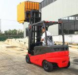 Largo-Vista brandnew di 1.5-2 tonnellate della Cina una mini carrello elevatore elettrico della batteria dell'albero del duplex dei 4 tester da vendere il prezzo