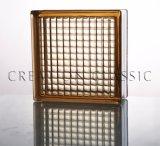 Bloque de vidrio transparente para Decroration, cuarto de baño, la pared de vidrio