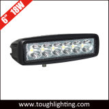 10-30V indicatori luminosi ovali di guida di veicoli di pollice 18W LED di dc 6 per i veicoli fuori strada 4X4