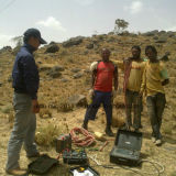 一時的な電磁石水器械の地上のTemシリーズ地下水の探知器