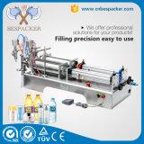 Machine de remplissage d'huile à bouteille d'eau à commande manuelle