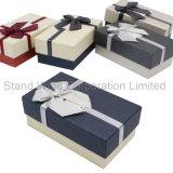 La joyería de regalo papel de embalaje, el cuadro de tamaño personalizado para mostrar