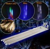 luces del tubo del meteorito de la luz LED de la ducha de meteorito de los 50cm SMD
