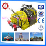 Lifting Dragging를 위한 5 톤 근해 Cable Pulling Air Operated Air Tugger Winch