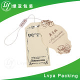 Woman Clothing Fashion Design Printed Kraft Paper Hangtags